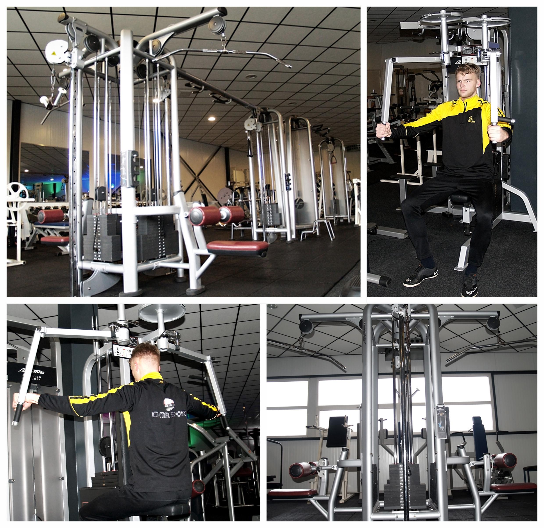 Nieuwe fitness toestellen Beilen